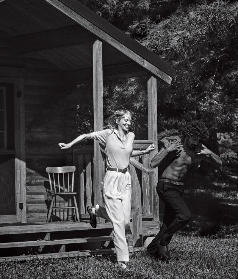 Lili Sumner Models Getaway Looks for WSJ. Magazine