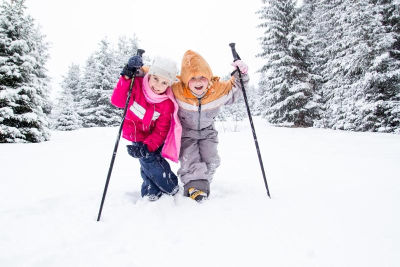 Little Girls Snow Mountain Winter Clothes Jackets