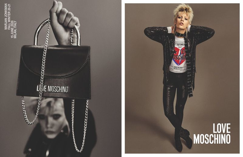 Love Moschino unveils fall-winter 2020 campaign.