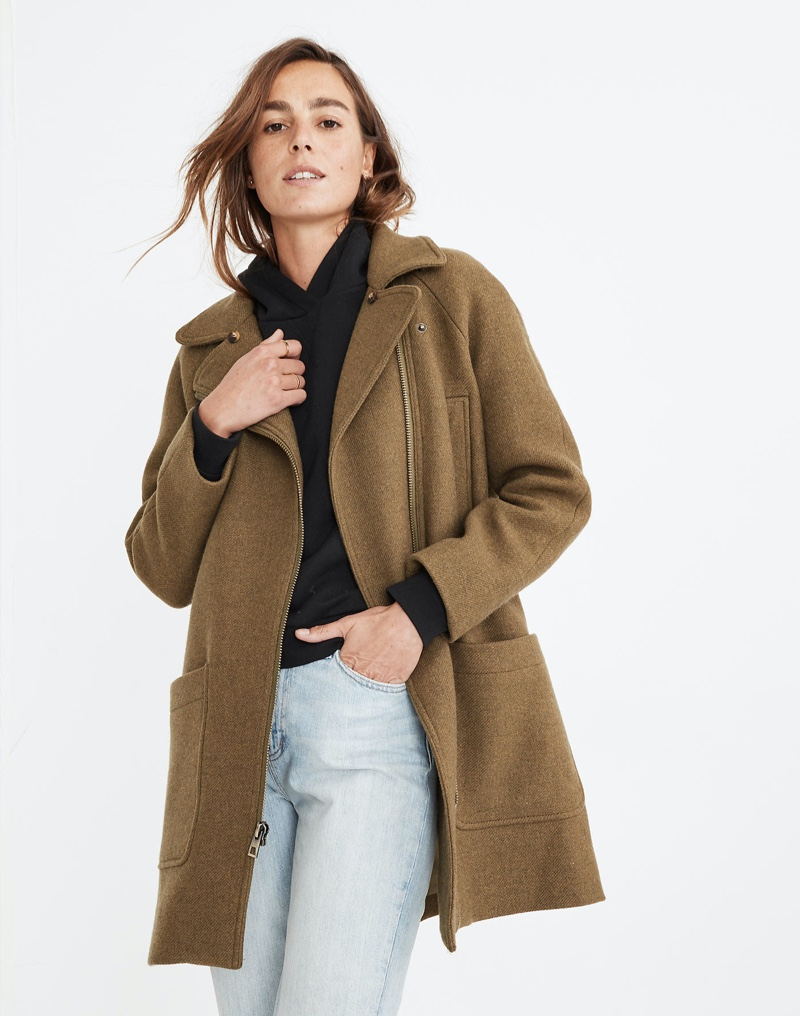 Stay Warm in Madewell's Latest Coats