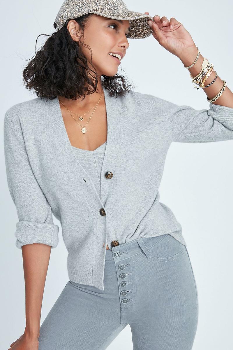 Maeve Essa Knit Cardigan $198