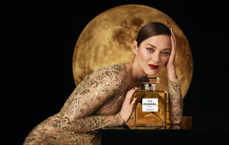 Marion Cotillard is the new face of Chanel No. 5 advertising.