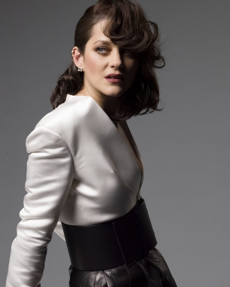 Marion Cotillard Shines in Chopard 'Ice Cube' Jewelry
