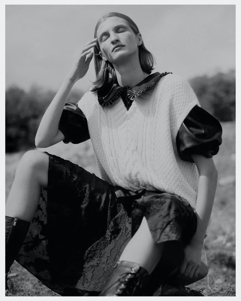 Merle Gerhardy Embraces Outdoor Style for Marie Claire Turkey