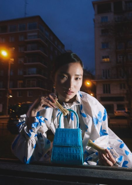 Qian Li Takes the Spotlight for Mujer Hoy