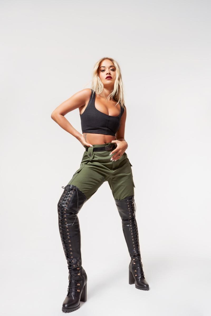 Rita Ora stars in Rita Ora x ShoeDazzle Collection campaign.
