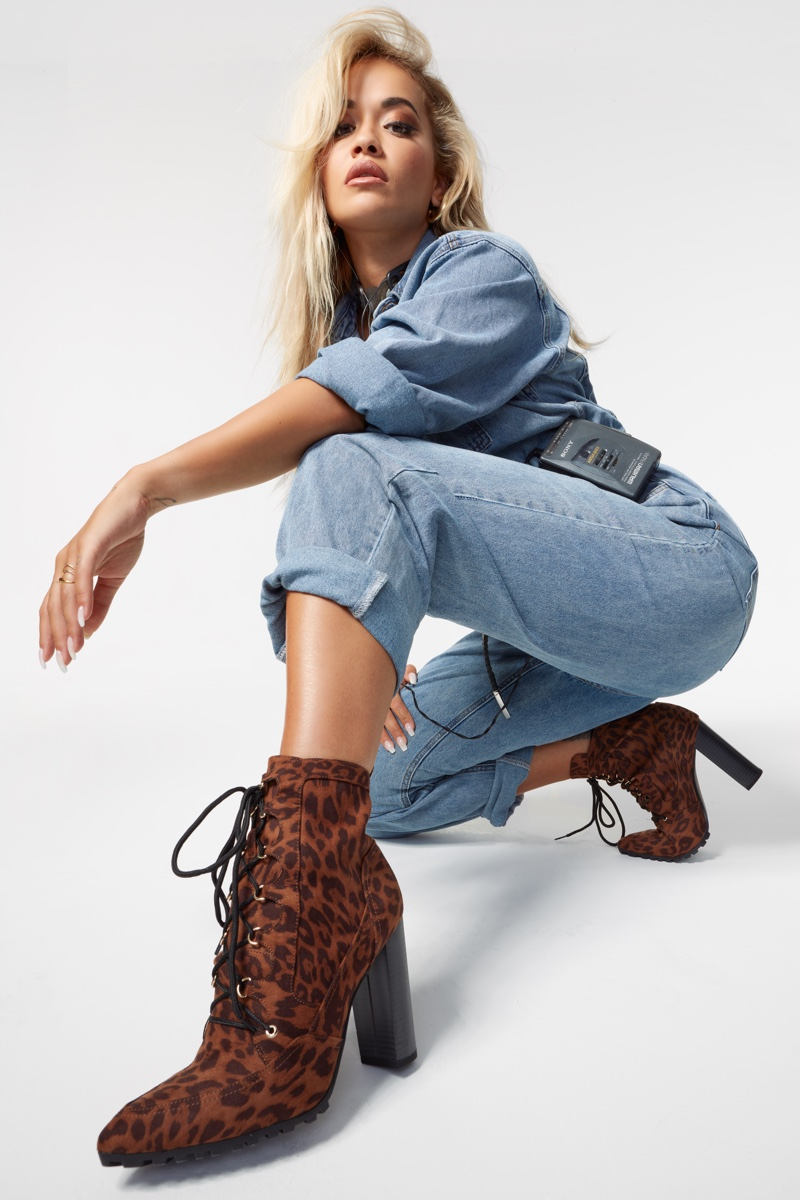 ShoeDazzle unveils collaboration with singer Rita Ora.