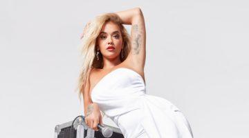 Rita Ora x ShoeDazzle I See Your Clear heel.