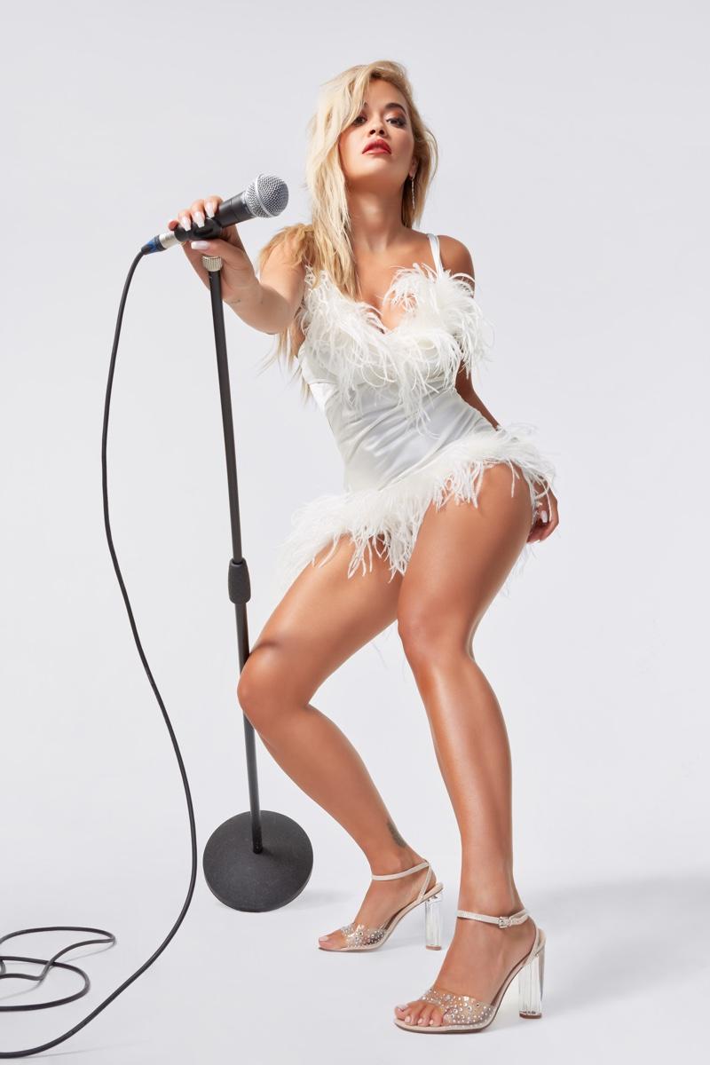 Rita Ora Rocks New ShoeDazzle Collaboration
