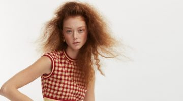 Sara Grace Wallerstedt Poses in Vintage Styles for How to Spend It