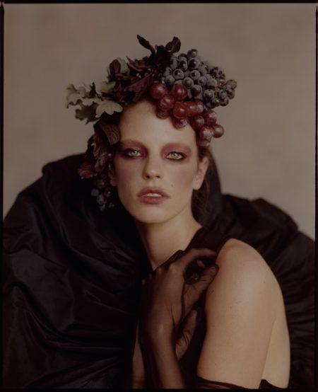 Sydney Sylvester Embraces Elegant Ensembles for Vogue Thailand
