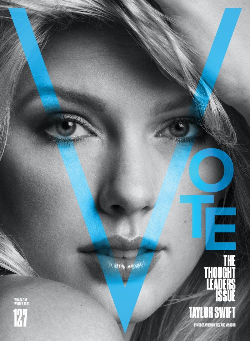 Taylor Swift on V Magazine #127 Cover. Photo: Inez & Vinoodh