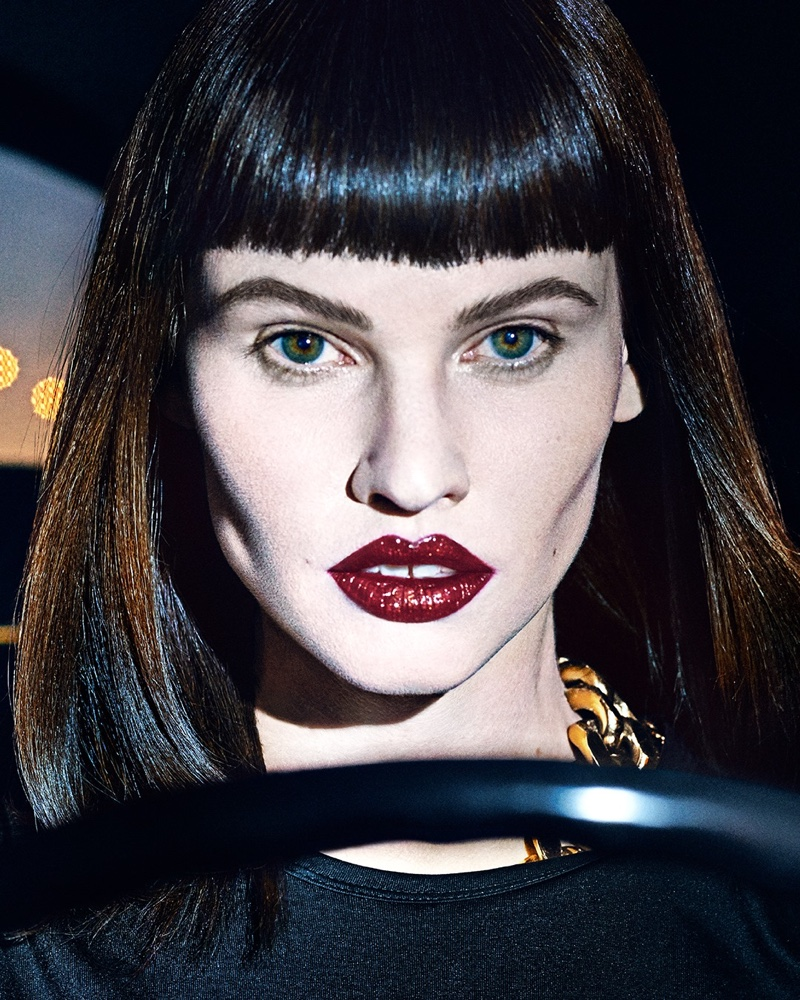 Steven Klein photographs Tom Ford Most Wanted lipstick campaign.