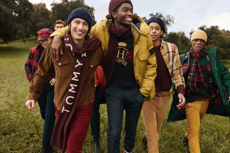 An image from Tommy Hilfiger's fall 2020 advertising campaign.