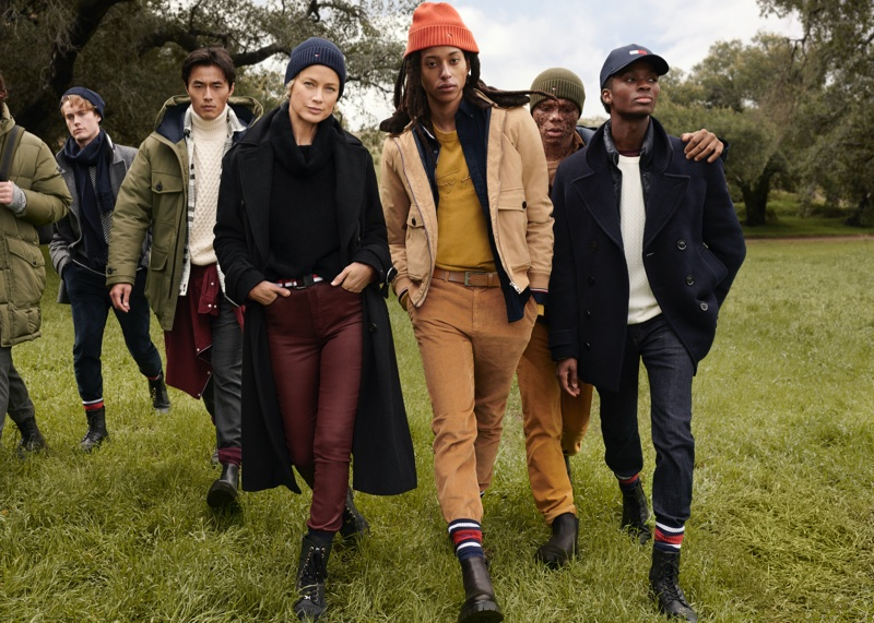 A photo of Tommy Hilfiger's fall 2020 campaign.