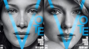Bella! Mariah! Taylor! V Magazine Unveils 12 Covers for Issue #127