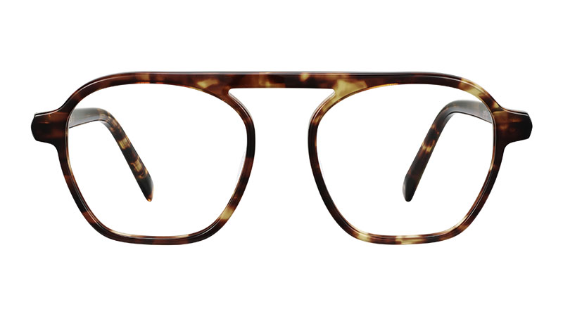 Warby Parker Dorian Glasses in Root Beer $95