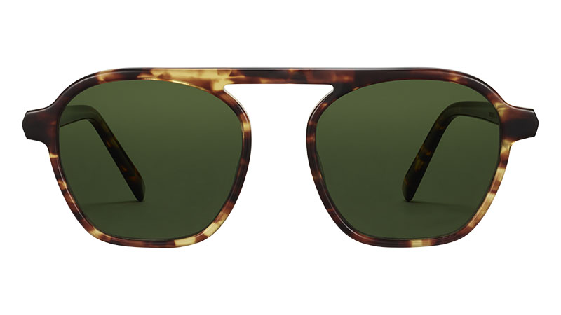 Warby Parker Dorian Sunglasses in Root Beer $95