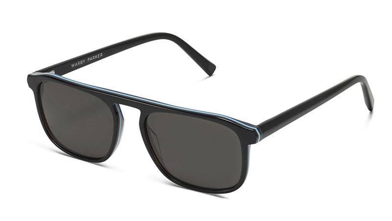 Warby Parker Lyon Sunglasses in Black Sky Eclipse $95
