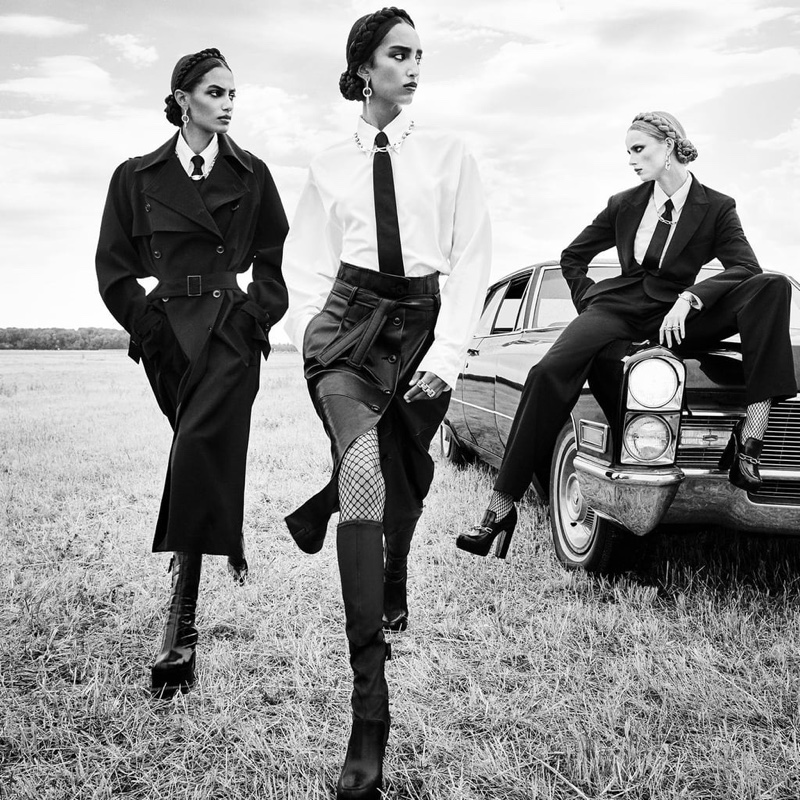 Steven Meisel photographs Zara fall-winter 2020 campaign.