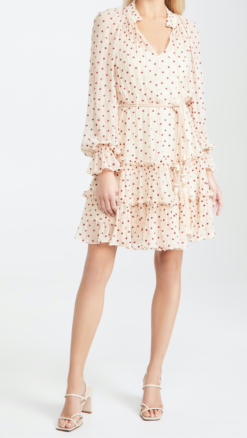 Zimmermann Ladybeetle Swing Mini Dress $995