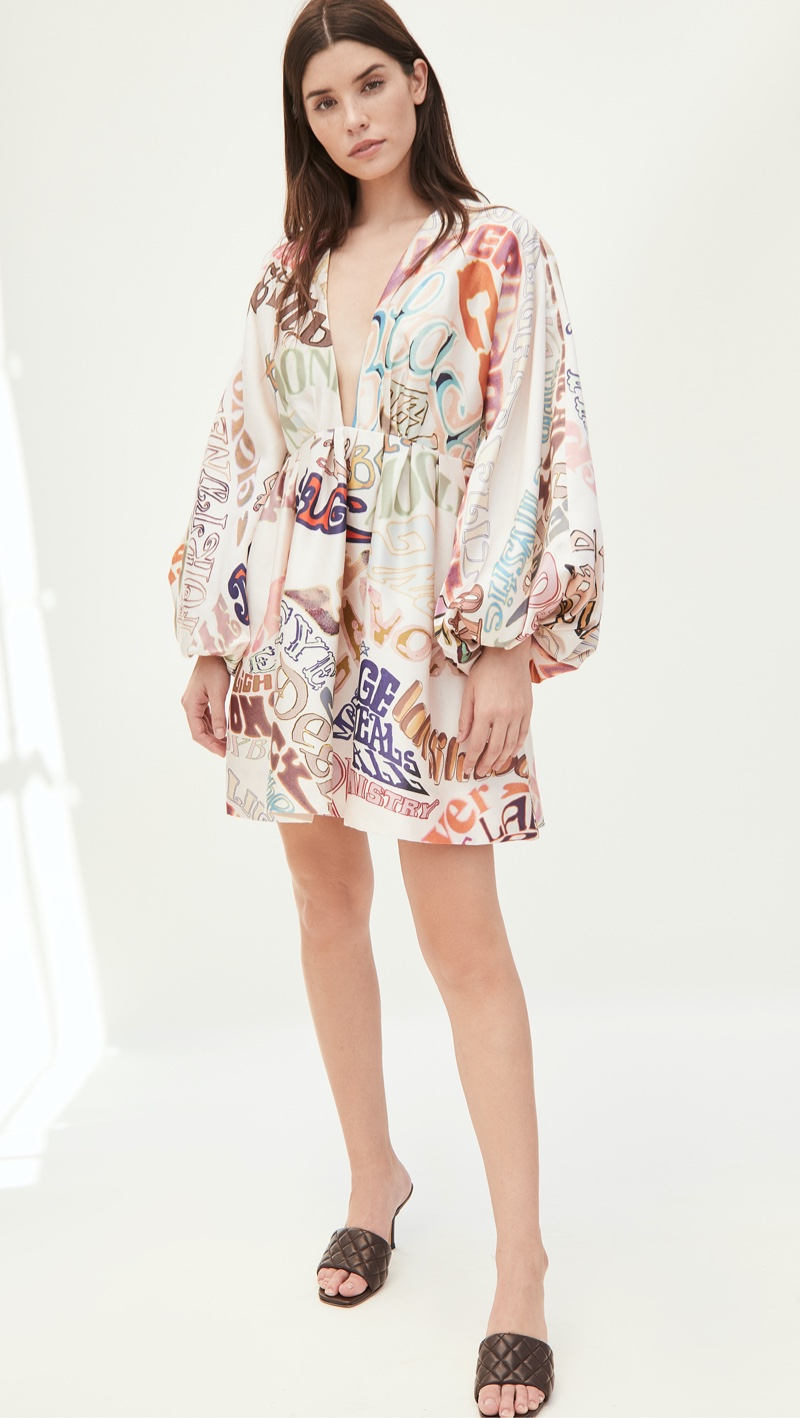 Zimmermann Ladybeetle Word Mini Dress $1,600