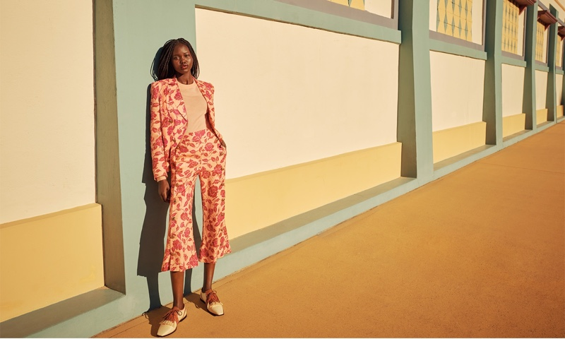 Adut Akech Soaks Up the Sun in Zimmermann Resort 2021 Campaign