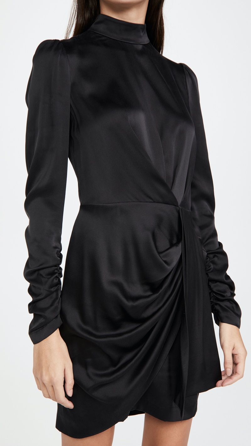 Zimmermann Silk Drape Dress $560