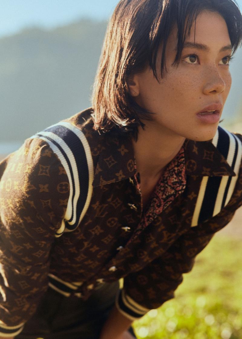 Chloe Blanchard Poses in Fall Styles for ELLE Vietnam