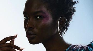 Aamito Lagum Models Bold Makeup in M Magazine Milenio