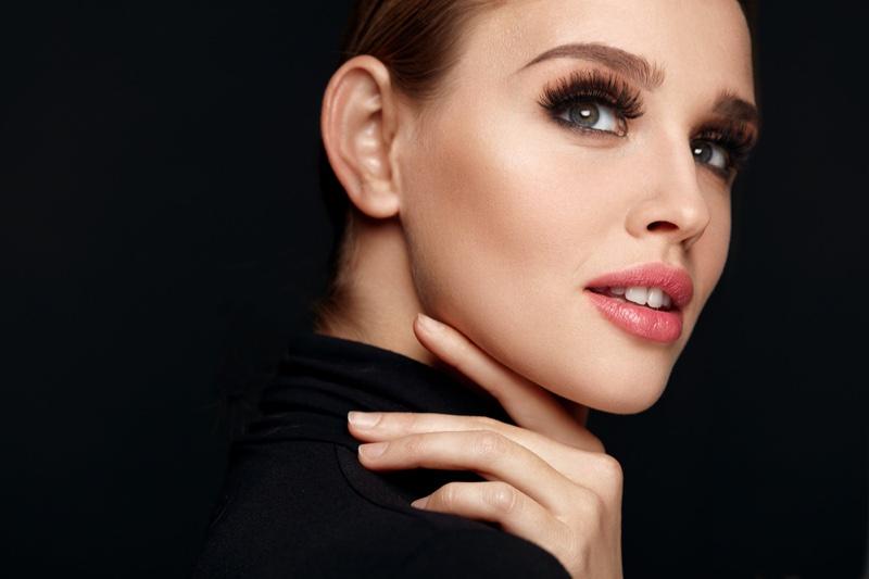 Beauty Makeup Model False Eyelashes