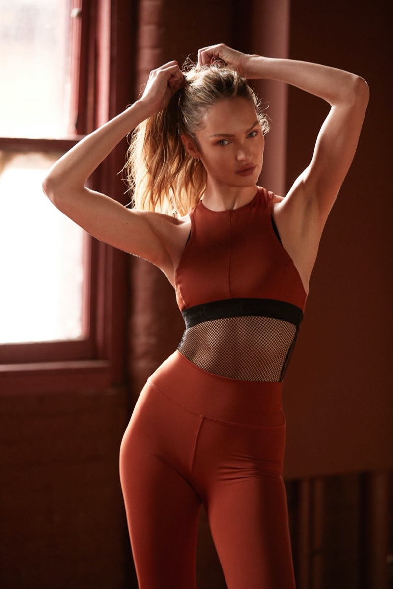 Candice Swanepoel Shows Off Her Moves With Tropic of C Movement