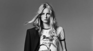 Rianne van Rompaey Takes the Spotlight in Celine Resort 2021 Campaign