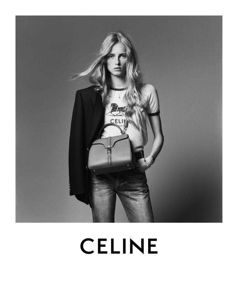 Hedi Slimane photographs Celine resort 2021 campaign.