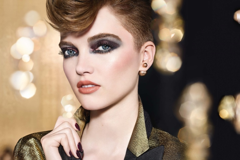 Dior unveils Holiday Makeup collection--Golden Nights.