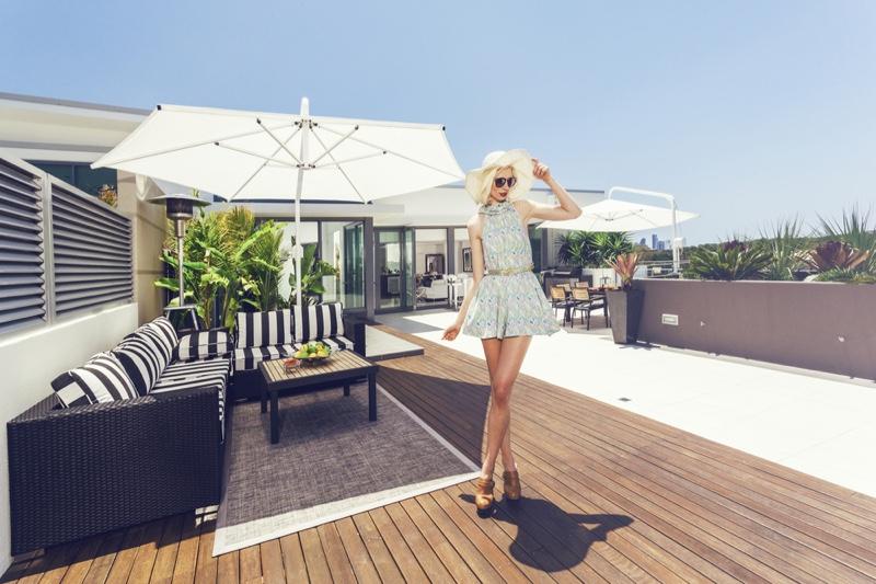 Fashion Model Australia Penthouse Wide Shot