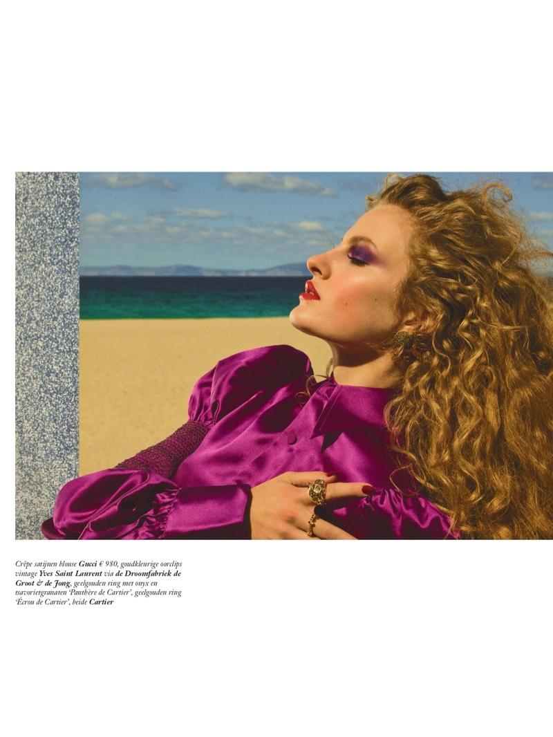 Felice Noordhoff Poses in Daring Styles for Vogue Netherlands