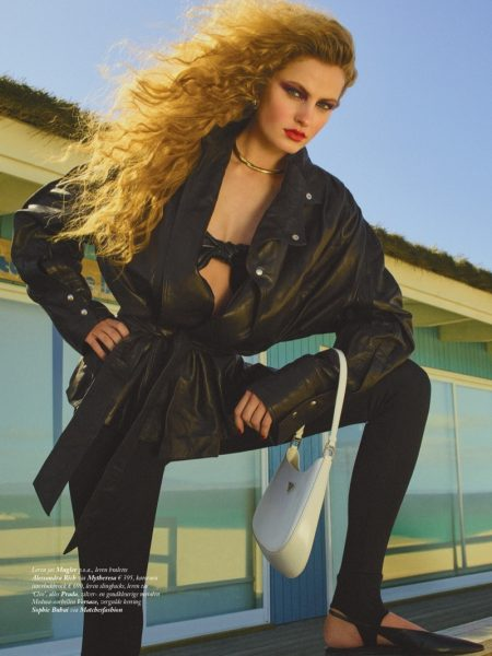 Felice Noordhoff Poses in Daring Styles for Vogue Netherlands