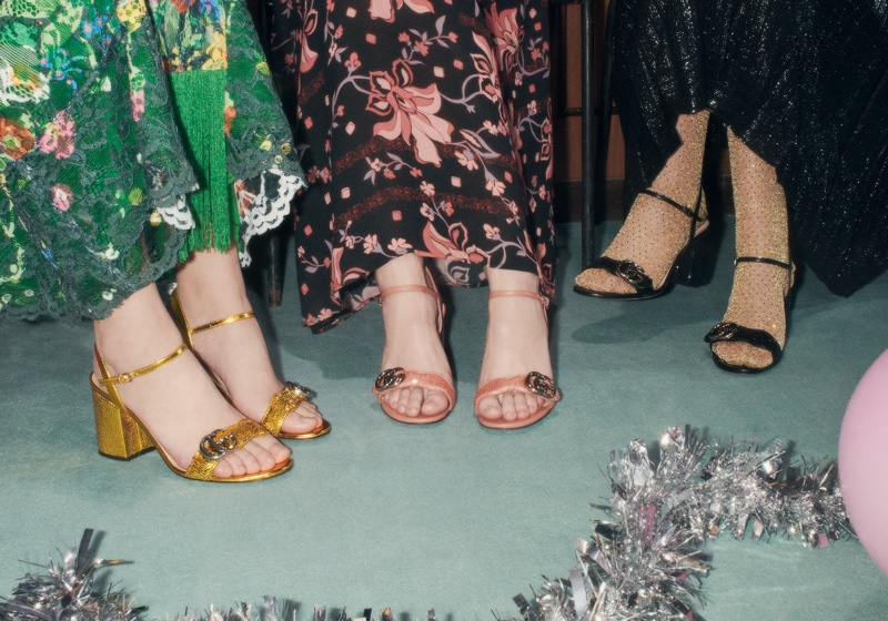 Gucci Hosts 90s Office Party for Holiday 2020 Campaign