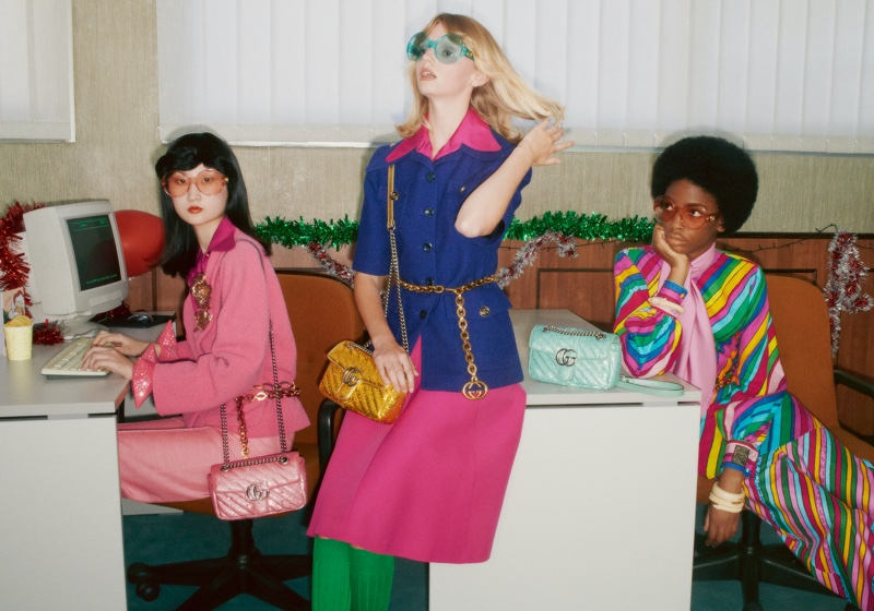 Gucci launches Holiday 2020 campaign.