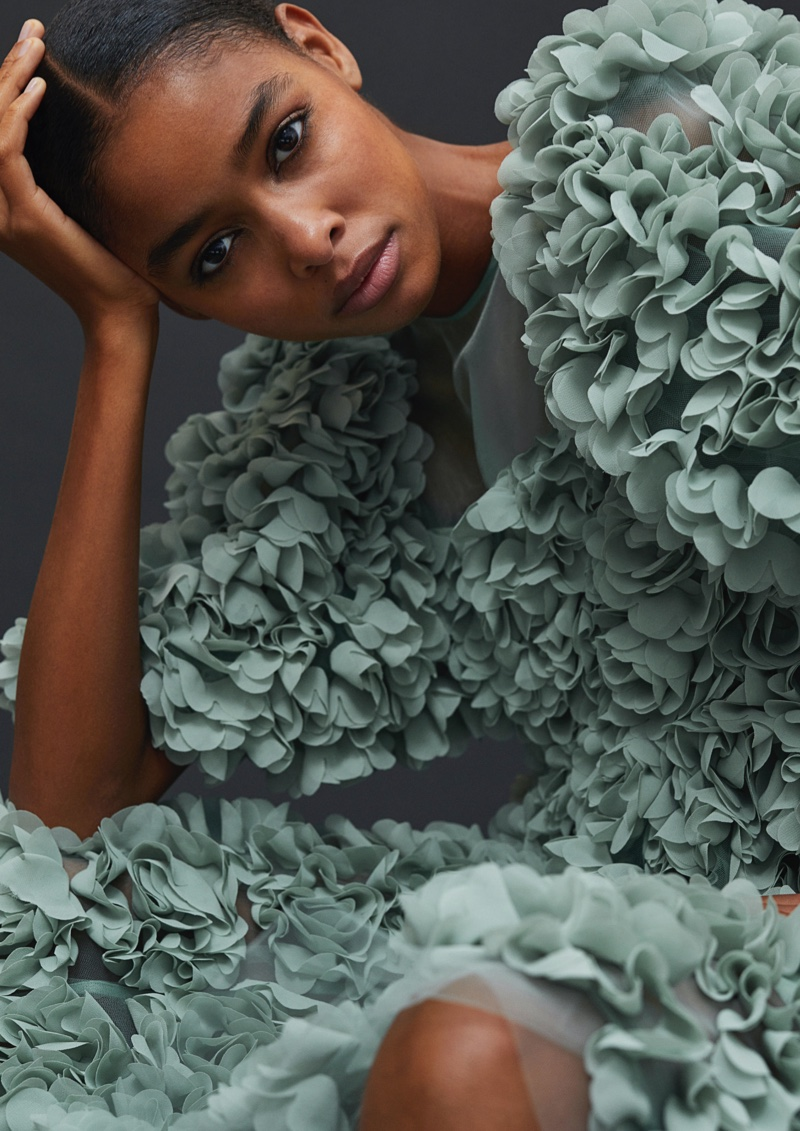 Zinnia Kumar Charms in H&M Conscious Exclusive Fall 2020 Campaign
