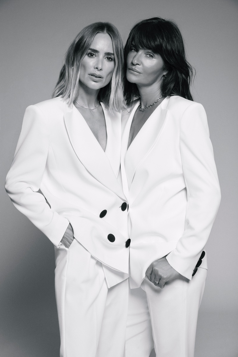 ANINE BING x Helena Christensen announce holiday collaboration.