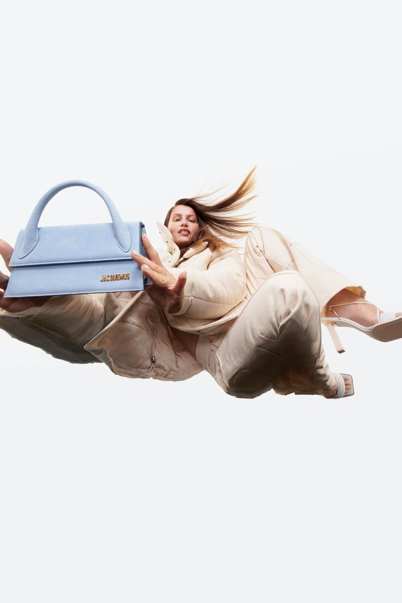 Jacquemus' handbags take the spotlight for fall-winter 2020 campaign.