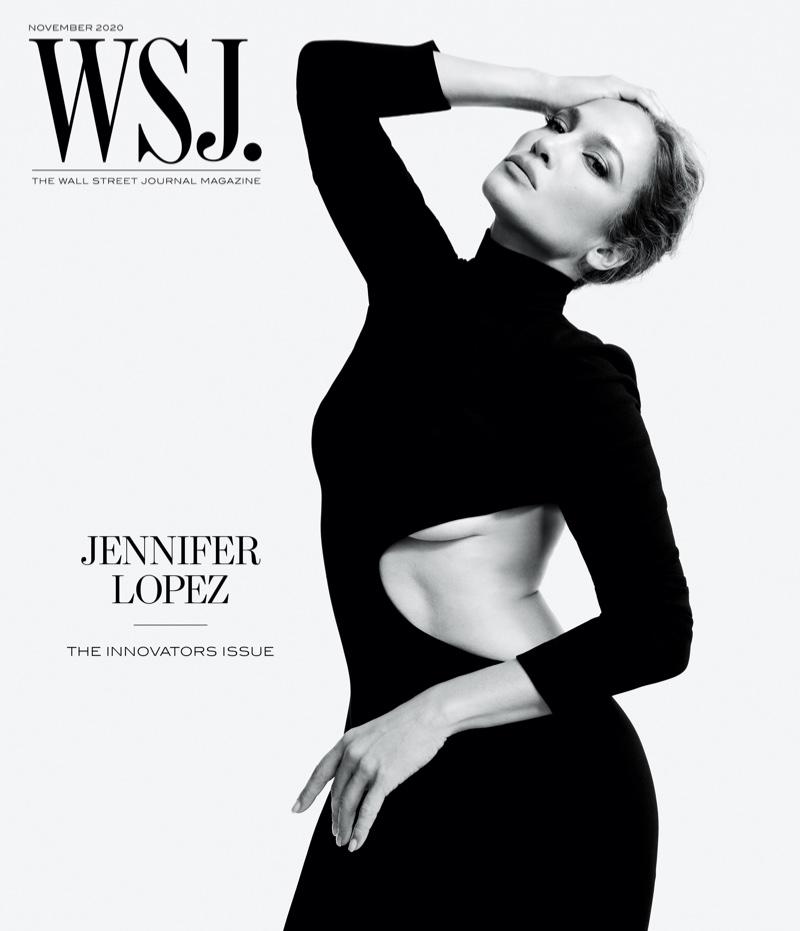Jennifer Lopez on WSJ. Magazine November 2020 Cover.