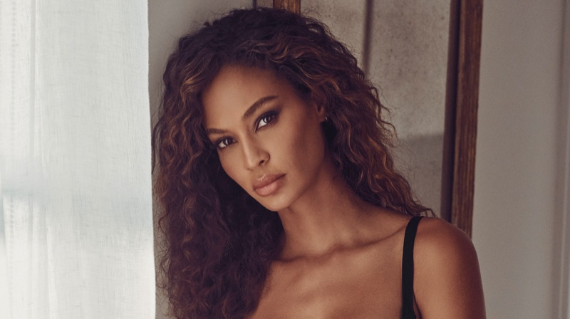 Joan Smalls Wows in La Perla Holiday Lingerie for Amazon's Luxury Stores