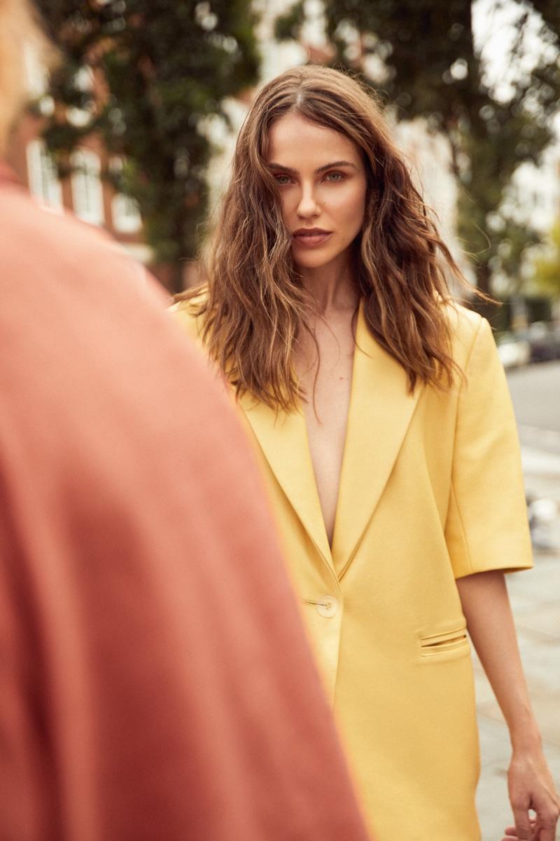 Kat Nemcova Poses in Neutral Fashions for Latest Magazine