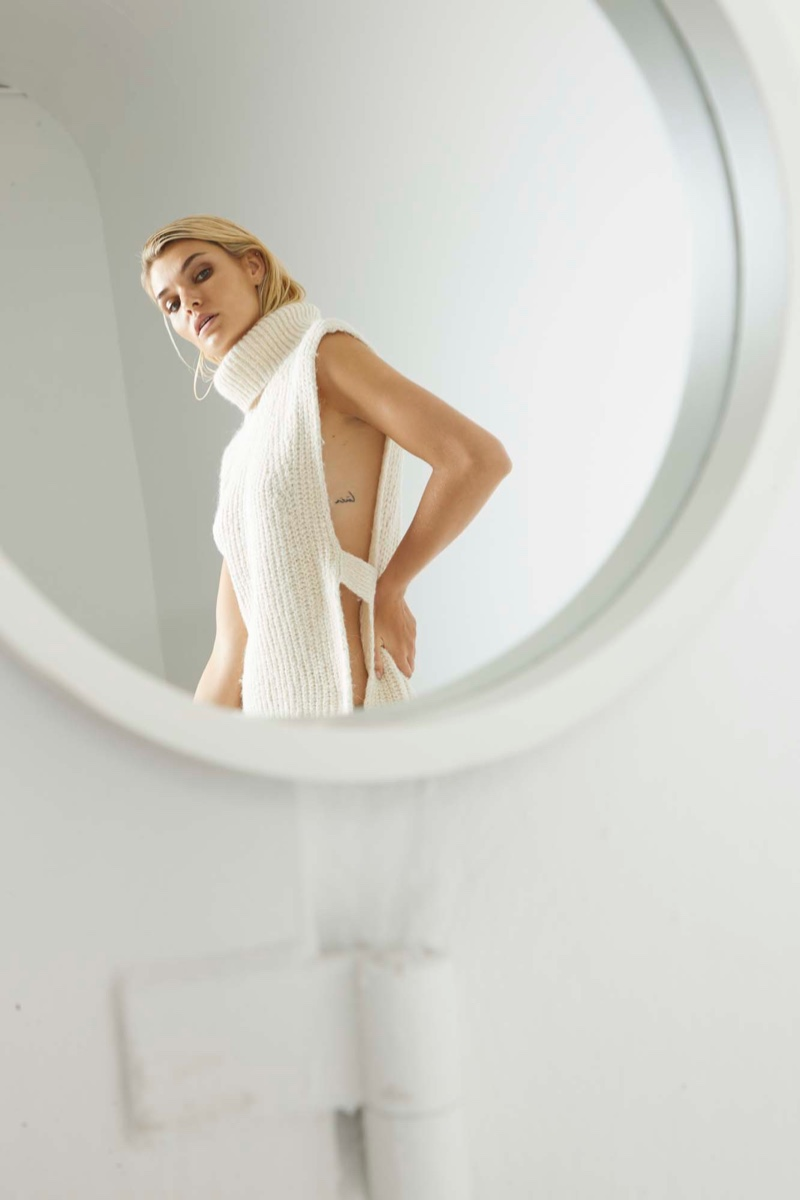 Luisa Hartema Wears Pared Down Looks for Latest Magazine