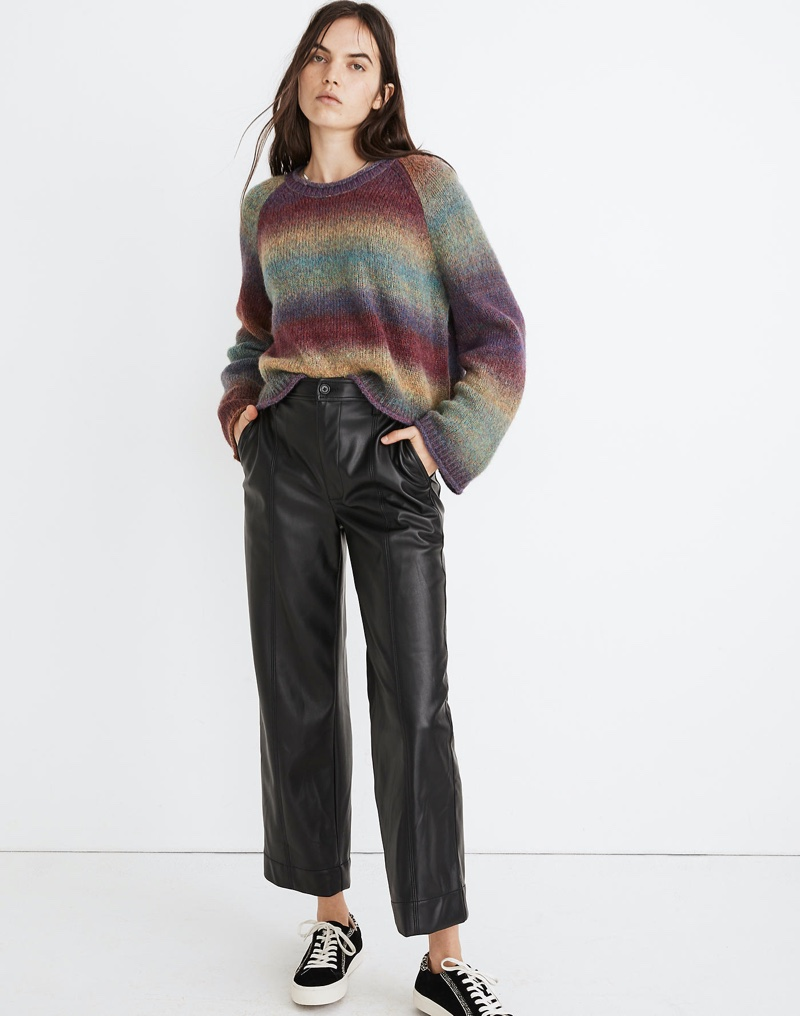 Madewell Space-Dye Dodworth Pullover Sweater $69.99