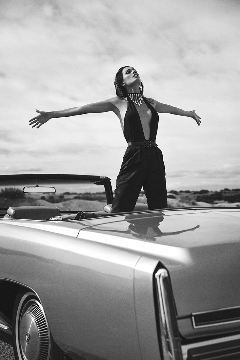 Mar Saura Hits the Road in Hot Looks for Esquire Mexico