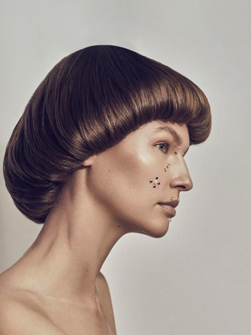 Misha Kapustkina Wears Embellished Beauty for L'Officiel Arabia